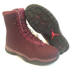 New Nike Air Jordan Future Boots Maroon Burgundy